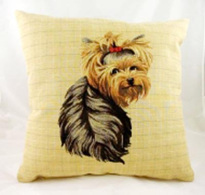 Yorkshire terrier Tapestry Cushion Cover