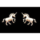Carina Silver Unicorn Earrings JE09