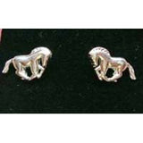 Carina Silver Horse Earrings JE12