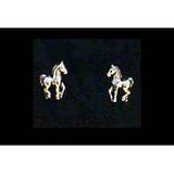 Carina Silver Foal Earrings JE21