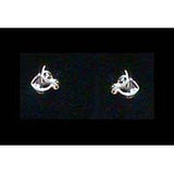 Carina Silver Horse Head Earrings JE22