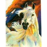 White Horse Happy Birthday Card LT0210