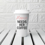 Personalised She's Got Needs Travel Mug