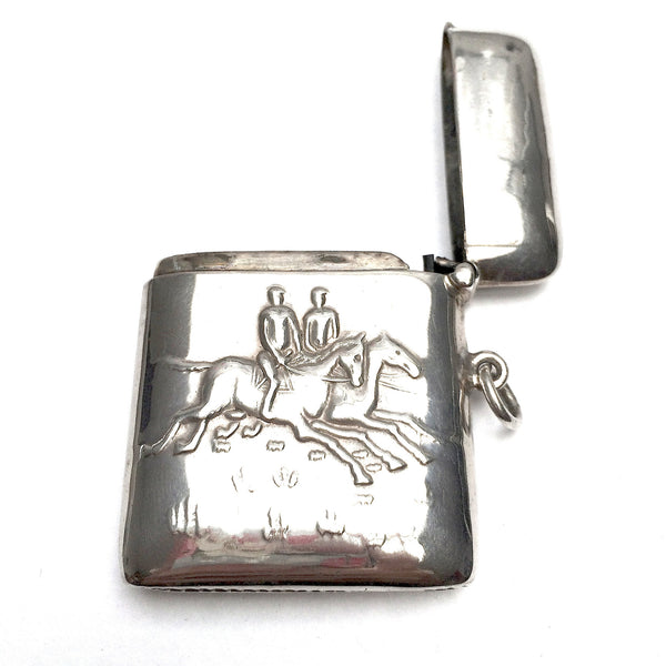 Sterling Silver Matches Case