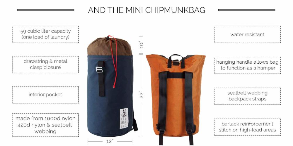 The Mini ChipmunkBag Description & Features