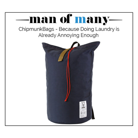 ChipmunkBags | Laundry bags for the modern man.