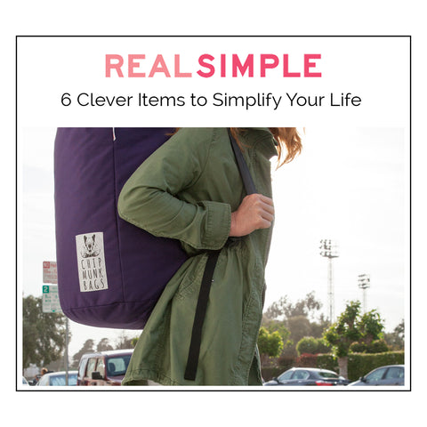 ChipmunkBags | Real Simple's 6 game changing products to simplify your life.