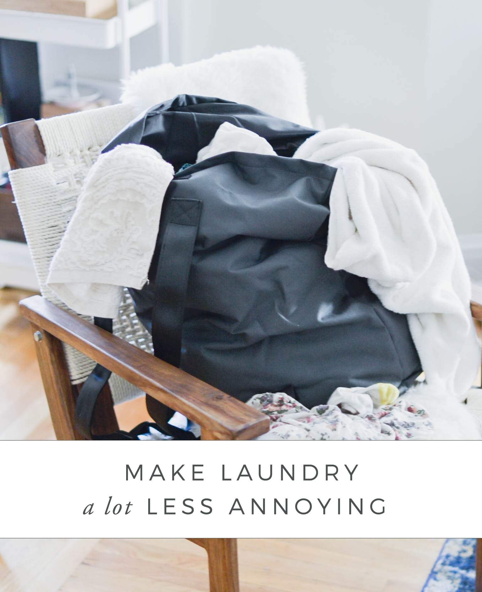 Making Laundry Less Annoying