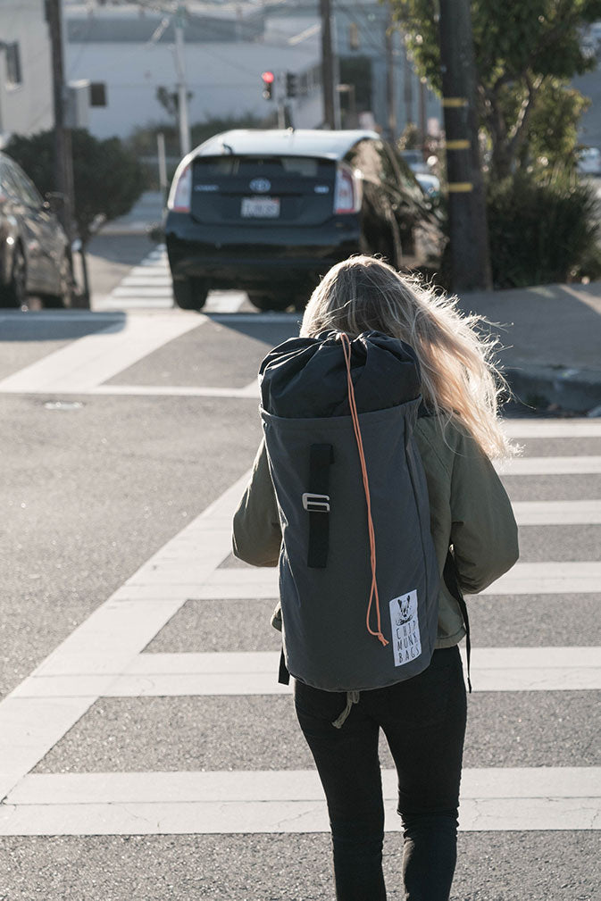 The Mini ChipmunkBag Laundry Backpack - The World's Best Laundry Bag