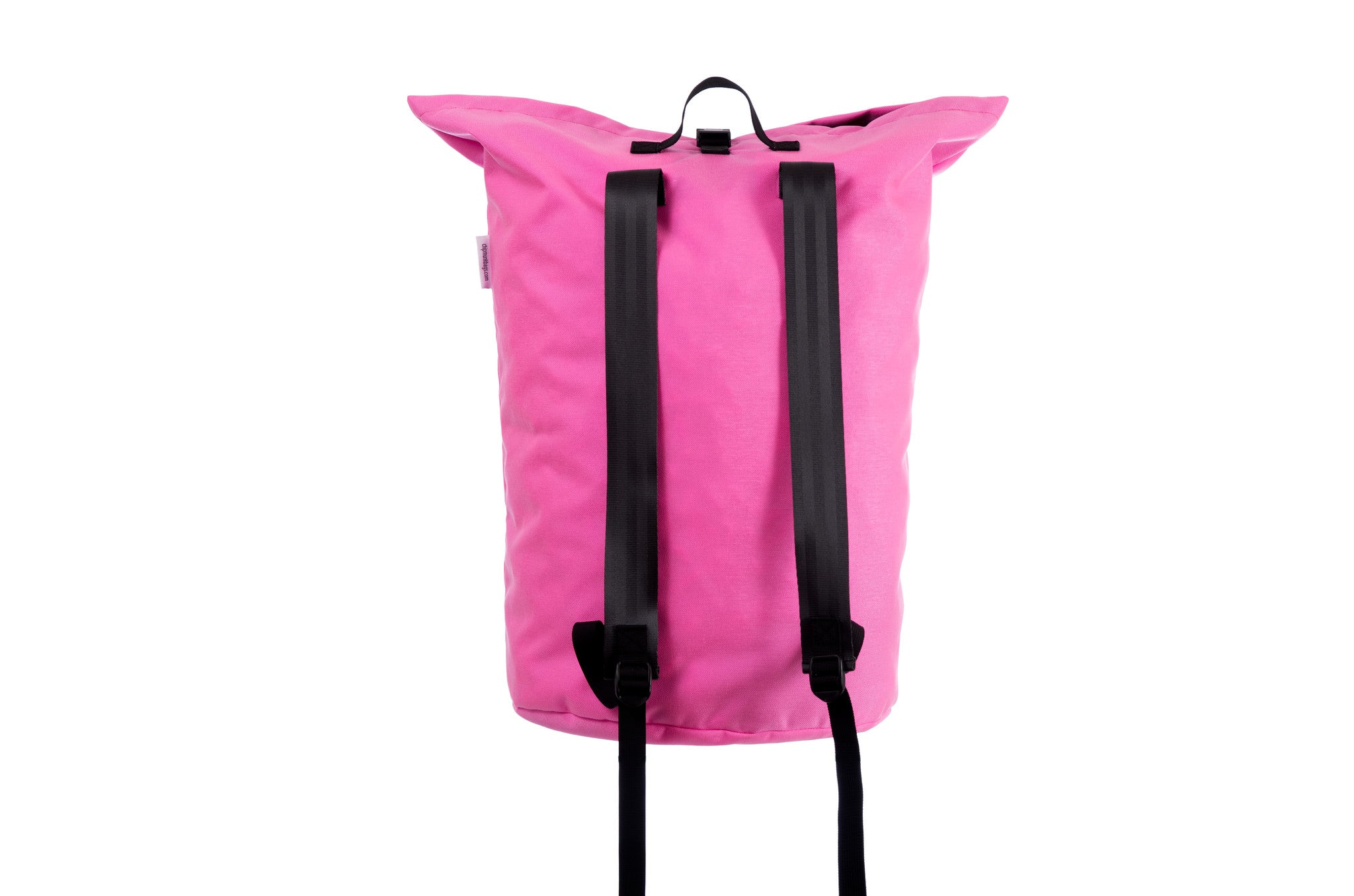 Pink ChipmunkBags Laundry Bag Back Angle