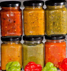 Hot Sauces & Habanero Paste