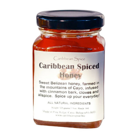 Raw Caribbean Spiced Honey