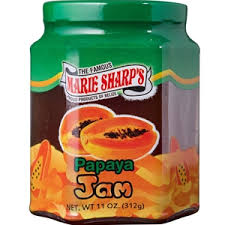 Marie Sharps Papaya Jam