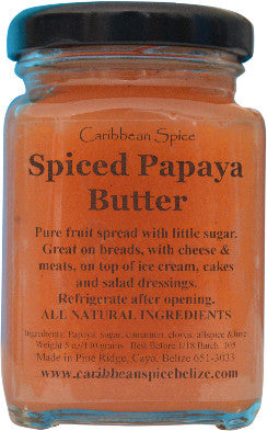 Spiced Papaya Butter