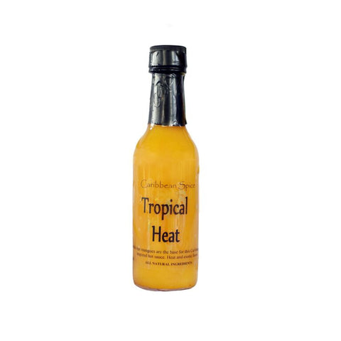 Tropical Heat Scotch Bonnet Pepper Hot Sauce HOT