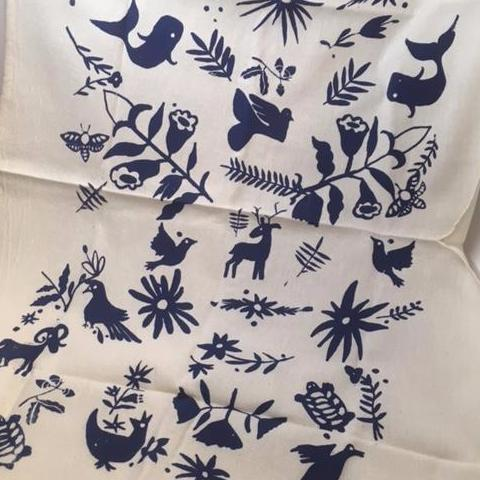 Otomi Inspired Dishtowel