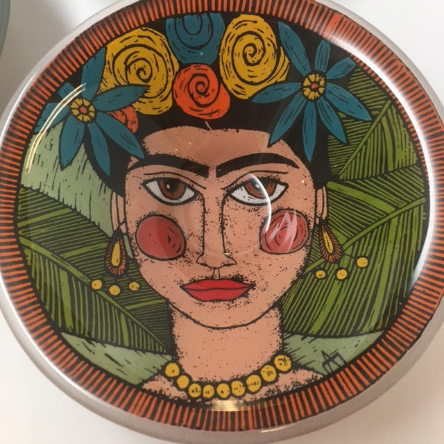 Frida Fused Glass Bowl