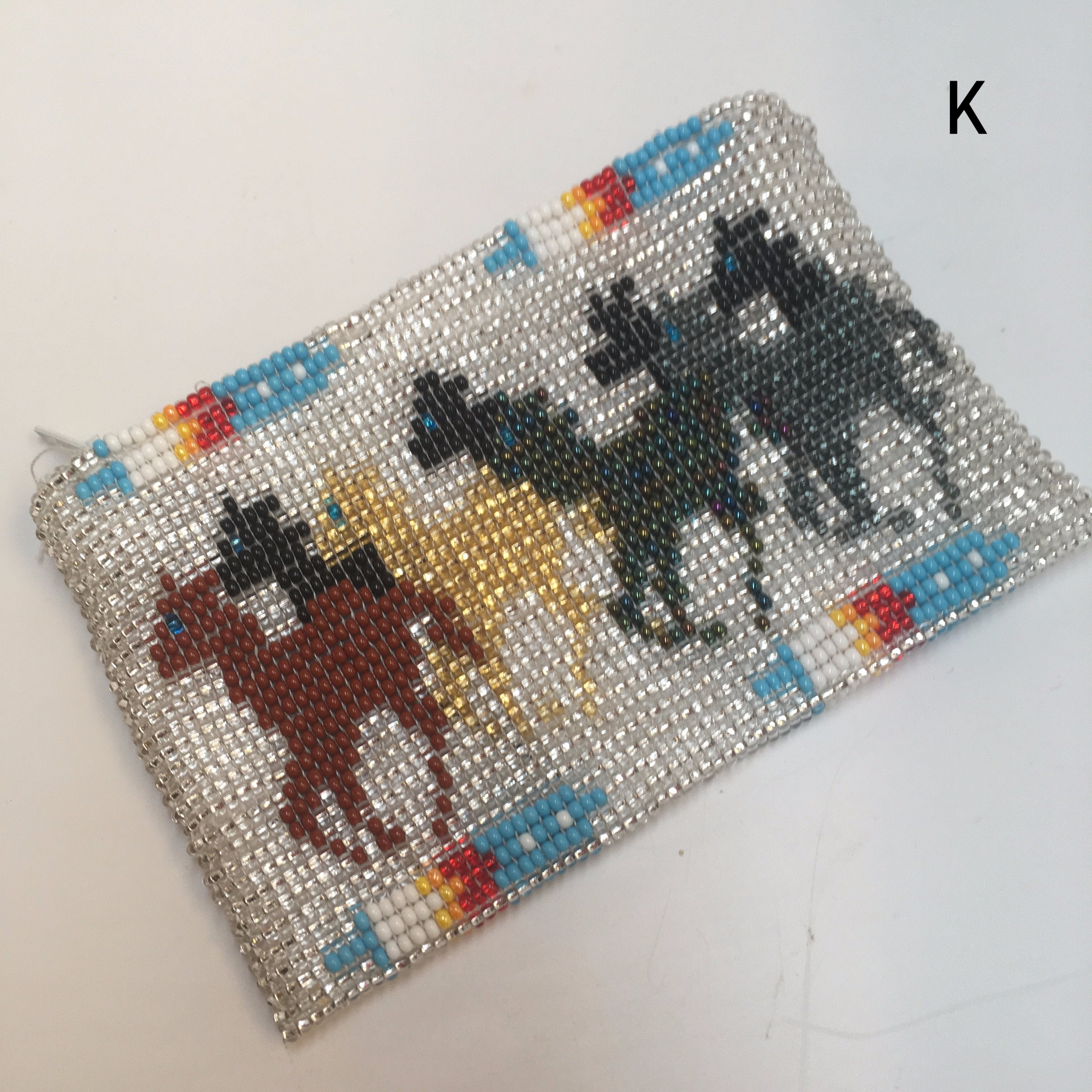 Beaded coin purse (more colors)