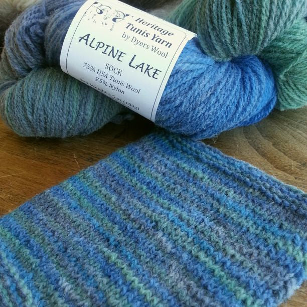 Alpine Lake Sock Yarn, Colorado-Grown Wool, 3.5 oz