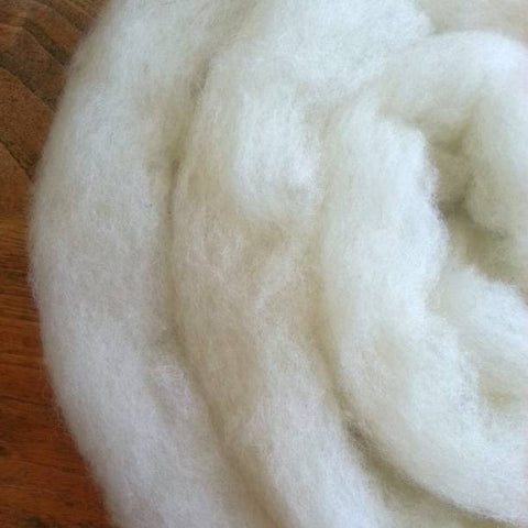Tunis Wool Roving, Colorado-Grown, 4 oz.