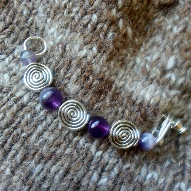 Spiral Shawl Pin (5 Colors Available)