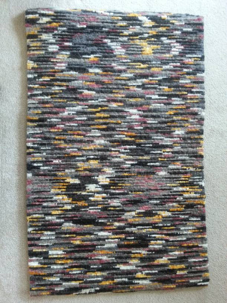Tweed Locker Hooked Wool Rug Dyers Wool