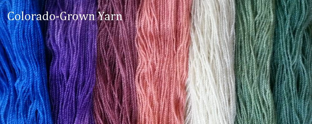 Colorado-Grown Yarn