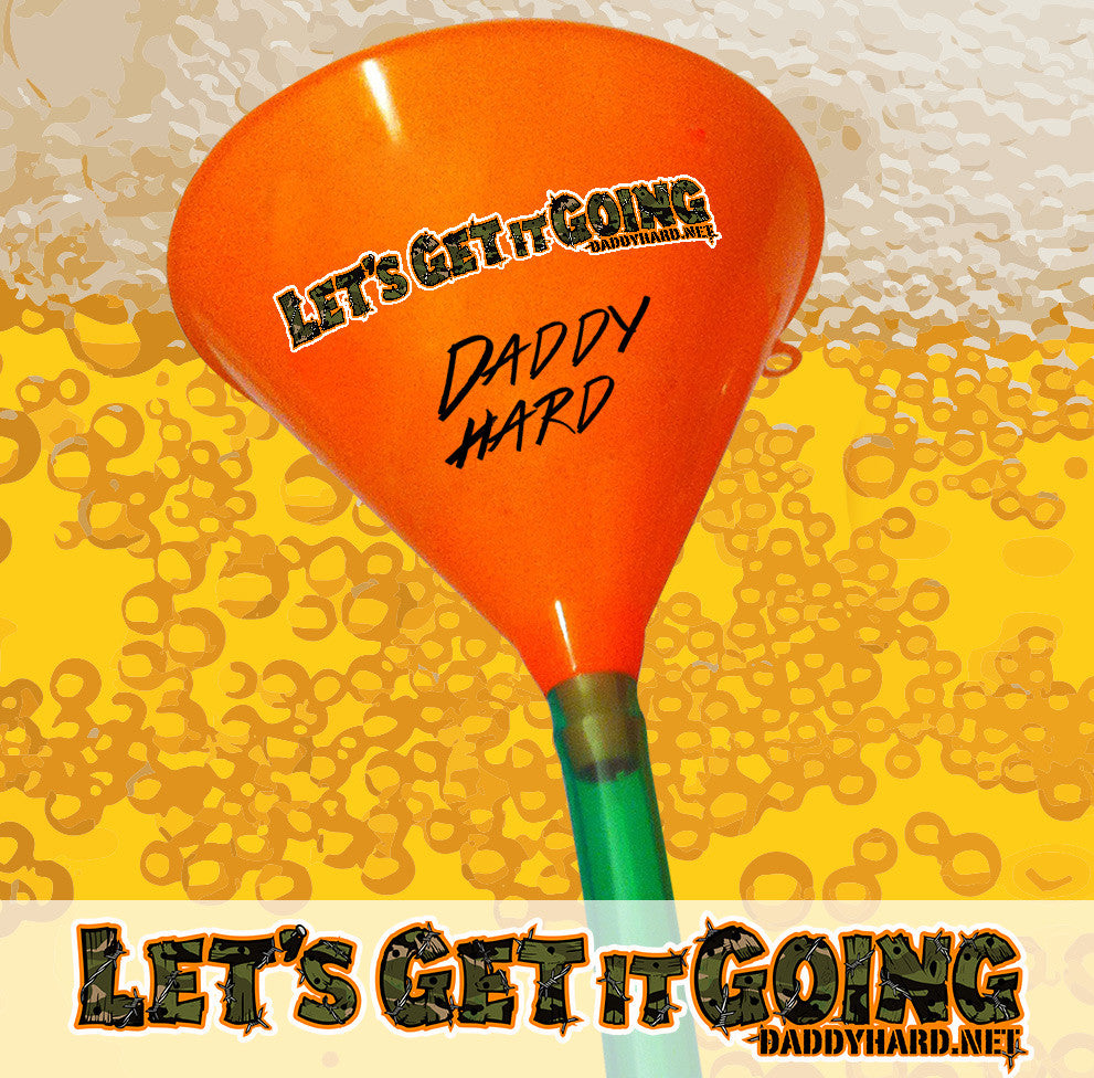 """Let's Get it Going"" Funnel (autographed)"