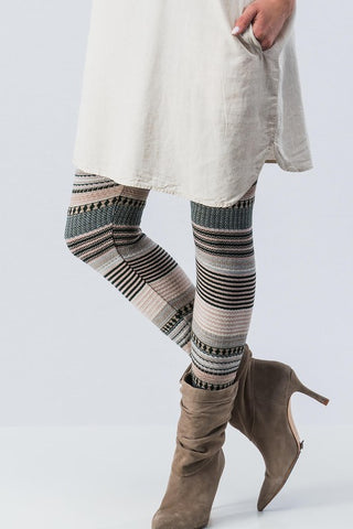 Striped Sweater Legging