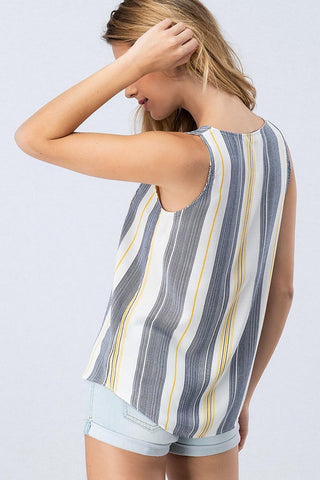 Multi Stripe Tank Top