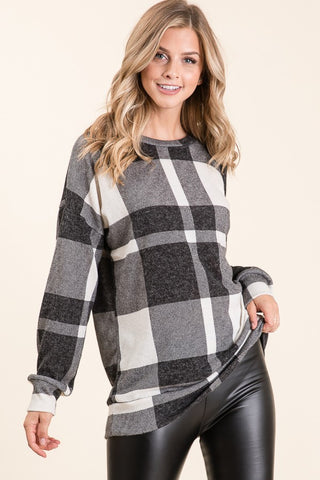 Buffalo Check Plaid Tunic