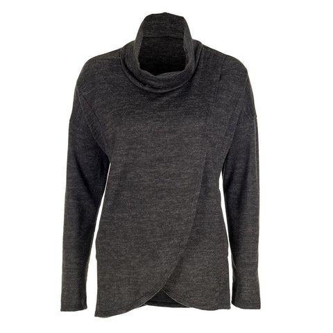 Charcoal Pullover with Pockets