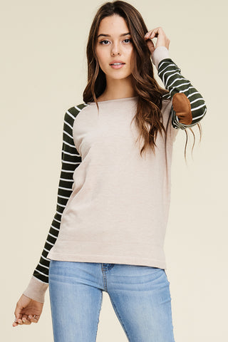 Striped Baseball Sweater