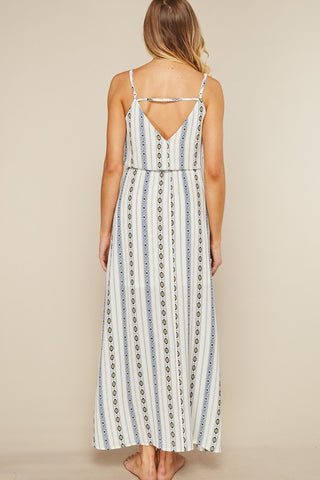 Printed Camisole Maxi Dress