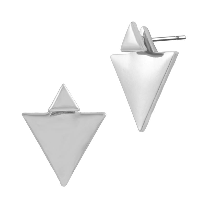 jewelry geometric diamond earrings
