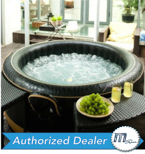 M-Spa Luxury Exotic M-113S Inflatable Hot Tub