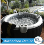 M-Spa Silver Cloud M-011LS Inflatable Hot Tub