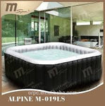 M-Spa Alpine Square Bubble Spa M-019LS