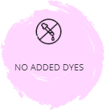 No added dyes icon