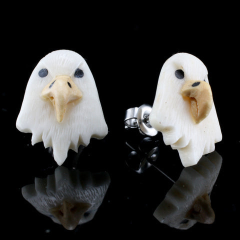 Bald Eagle Moji MAKERPin Studs