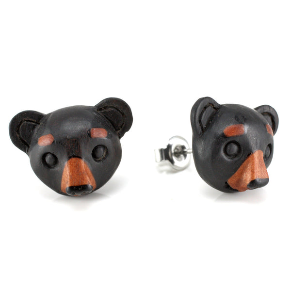 Black Bear Moji MAKERPin Studs