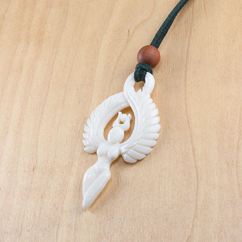Winged Goddess Pendant