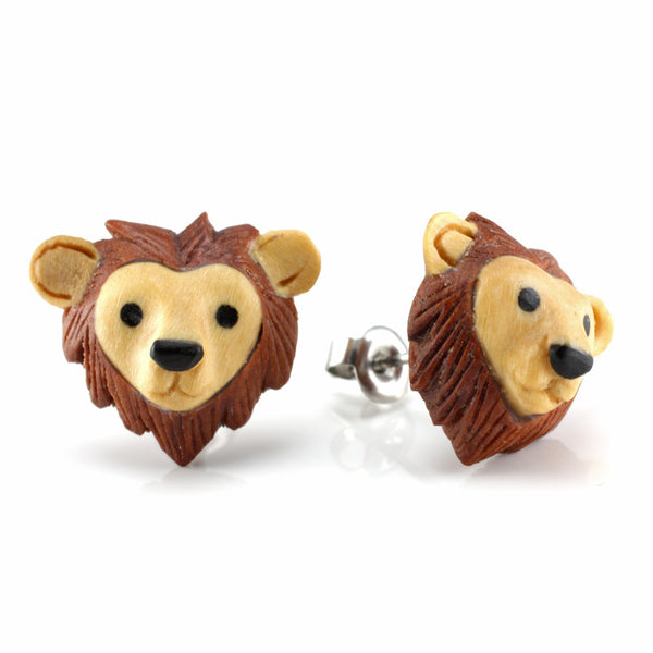 Lion Moji MAKERPin Studs