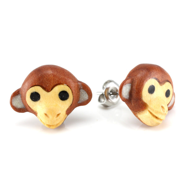 Monkey Moji MAKERPin Studs