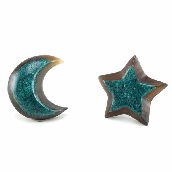 Moon and Star MAKERPin Studs