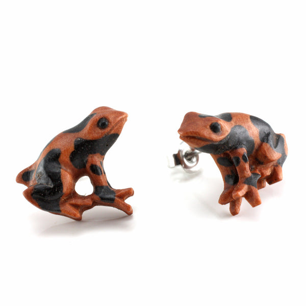 Red Poison Dart Frog MAKERPin Studs