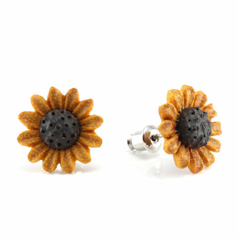 Sunflower MAKERPin Studs