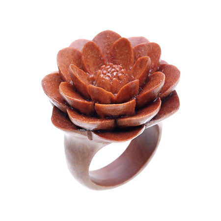 Water Lily Ring (L)