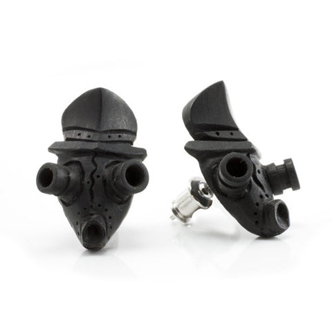 Gas Mask MAKERPin Studs