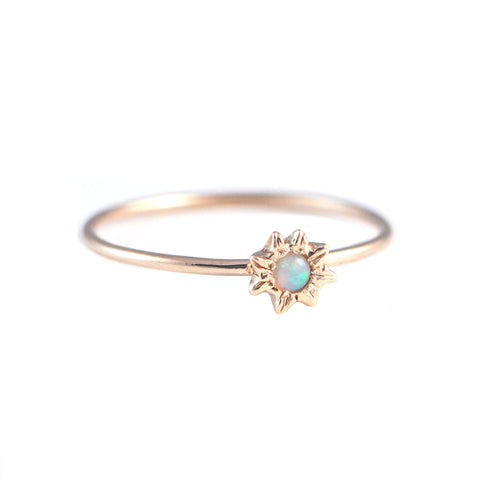 Starry Opal Ring